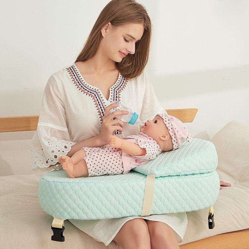 Oreiller d'allaitement confortable nouveau-né bébé Wedge oreiller de couchage maternité allaitement oreiller qualité alimentation bébé coussin