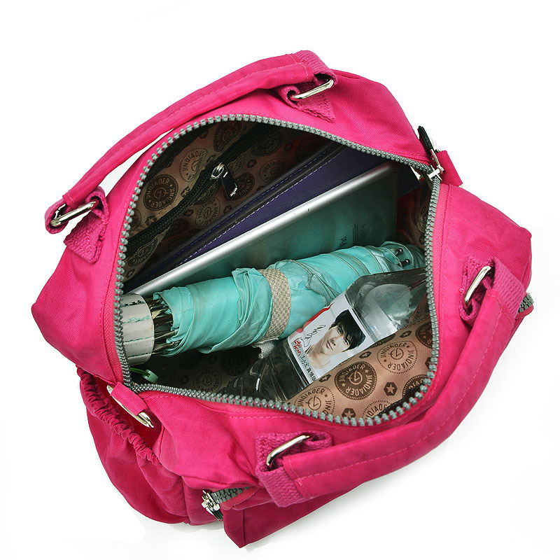Solid Color Famous Brand Top-handle Bag Handbags Large Capacity Women Nylon Mommy Bag Casual Tote Female Purse Sac Bolsa Feminia