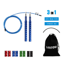 Speed Jump Rope Crossfit Workout Professional Men and Women Gym steel Wire Cable bearing Skipping ropes Fitness Training