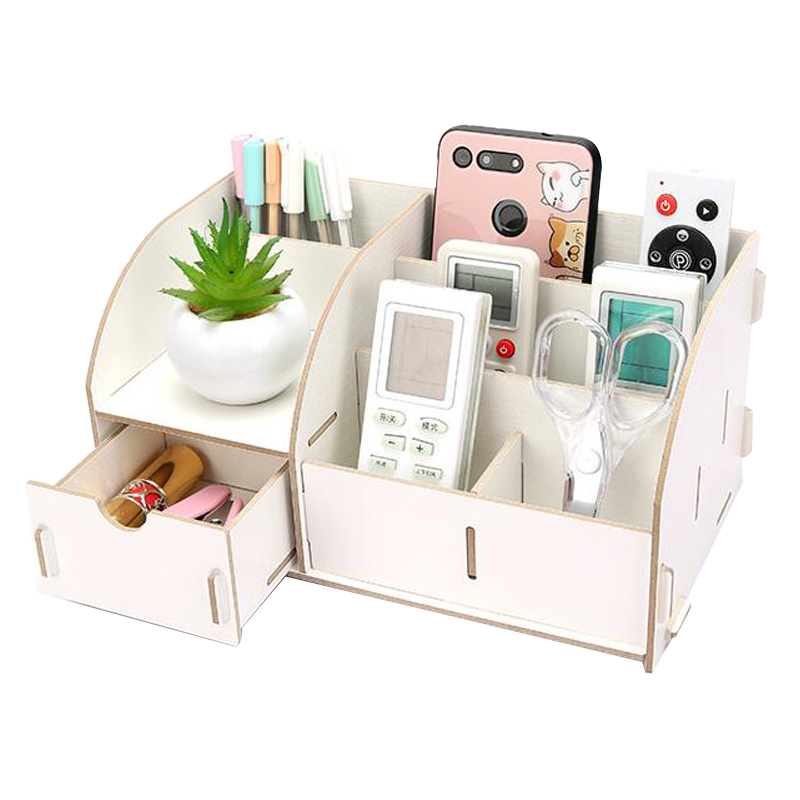 Holders With Drawer Paper Holders Multipurpose Wooden Storage Box 4