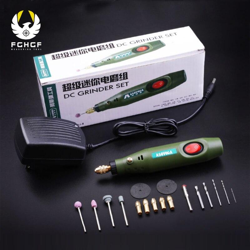 FGHGF 220 V Gravur Stift Mini bohrer dremel Elektrische Grinder Polieren Mühle Kleine Schneiden Manuelle Bohren Maschine power tools