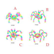 Spider Halloween Party Decoration Haunted House Prop Indoor Outdoor Wide Colorful Multiple Styles Spider Toys(China)