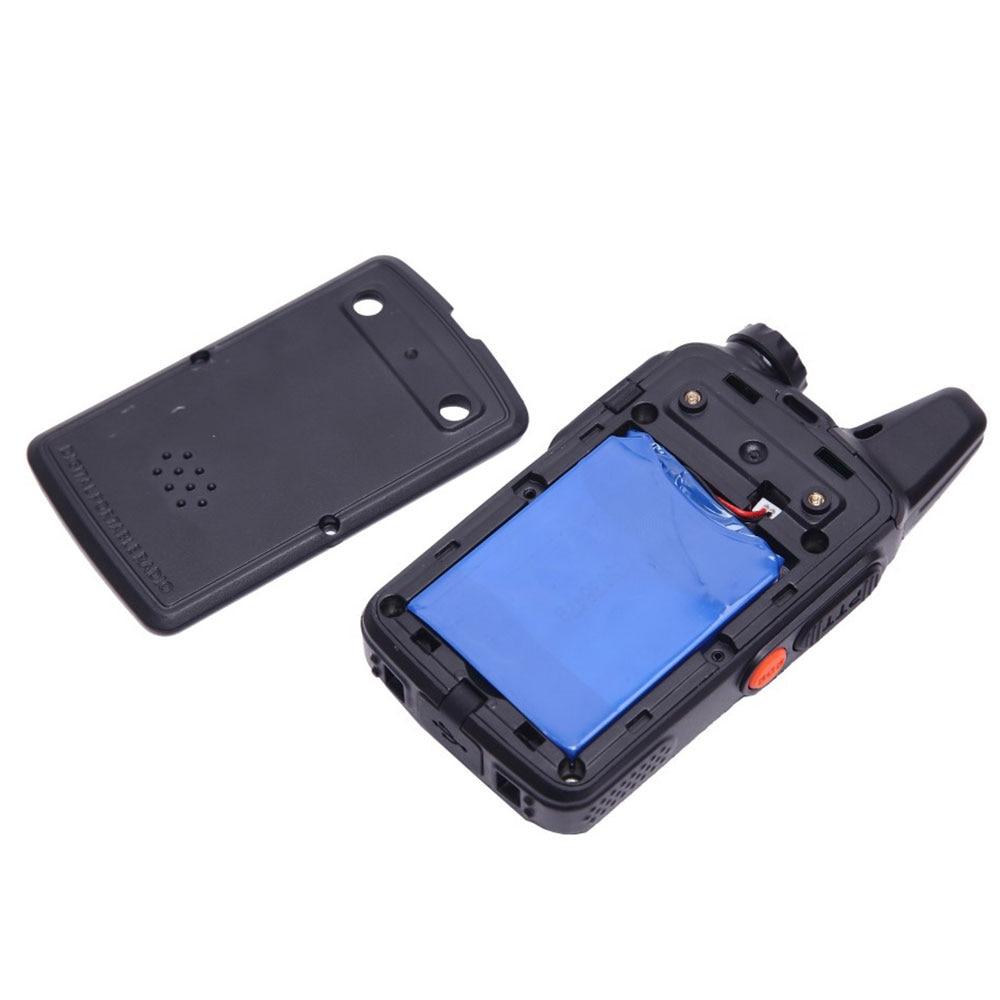 Купить с кэшбэком BaoFeng BF-T1 Frequency 400-470MHz 20 Channels Mini Ultra-Thin Micro Driving BaoFeng Hotel Civilian Walkie Talkie