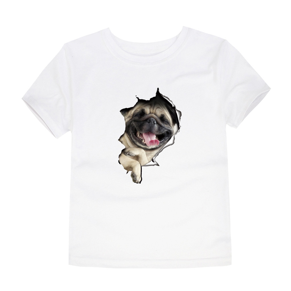 I Love My Pitbull Staffy Terrier Dog 2-6 Years Old Children Short Sleeve T Shirts