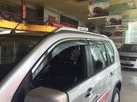 High Quality 4 Pcs Set IX35 Wind Rain Sun Guards Visor Vent Awnings Shelters For Toyota
