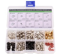 228PCS Computer Case Motherboard Fan Hard Drive Screw Assortment Kit With Free Shipping