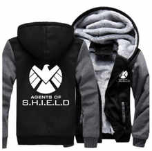 US size Men Women Coat for Agents of Shield S.H.I.E.L.D. Jacket Sweatshirts Thicken Hoodie Clothing Casual - DISCOUNT ITEM  13% OFF Men\'s Clothing