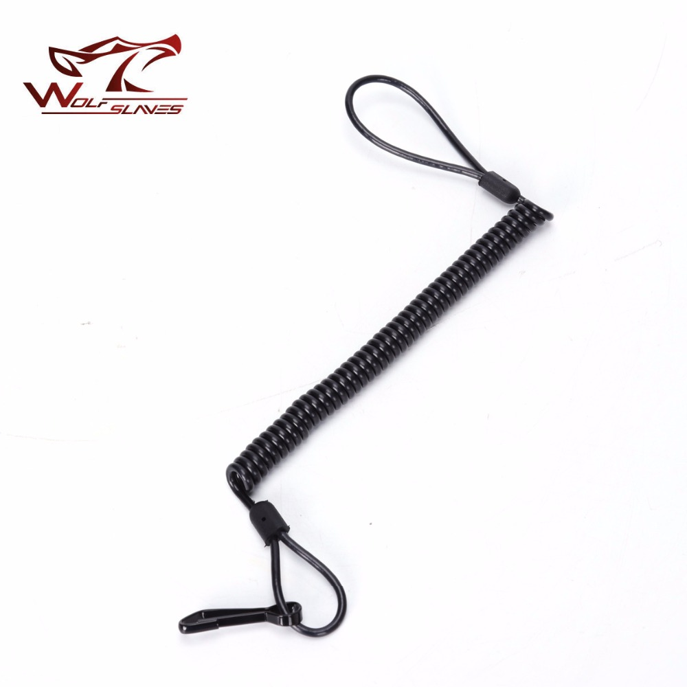 New Tactical Gun Sling Single Point Pistol Handgun Spring Lanyard Sling Quick Release Shooting Hunting Strap Army Combat Gear