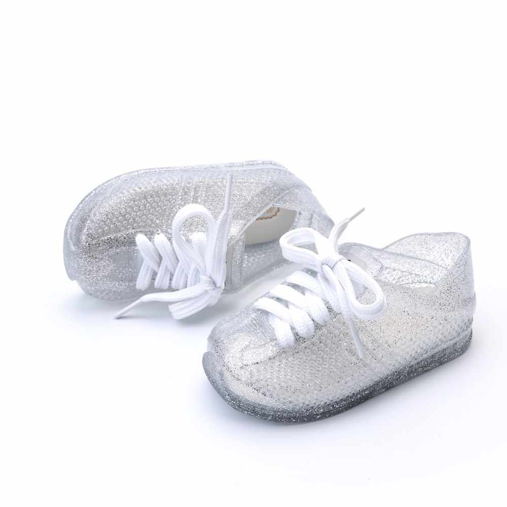 Mini Melissa 2018 Kids Sports Shoes Breathable Lace Jelly Waterproof Shoes Casual Girls Sandals Shoes Mini Melissa Shoes