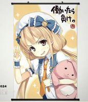 Home Decor Japan Poster Wall Scroll Idolmaster Anzu Futaba CINDERELLA GIRLS 024