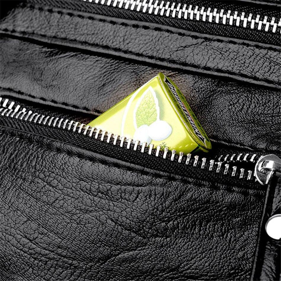 HTB16W4OaPzuK1Rjy0Fpq6yEpFXaW Women Backpack Female High Quality Soft Leather Book School Bags For Teenage Girls Sac A Dos Travel Back pack Rucksacks Mochilas