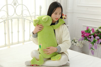 big lovely soft lying frog toy plush green frog pillow doll about 80cm 2717