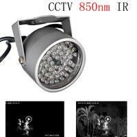 48 Infrared Array Led CCTV 850nm IR Illuminator Nightvision Fill Light Waterproof For Surveillance Camera