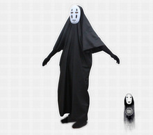 Spirited Away No Face Man Cosplay Costume