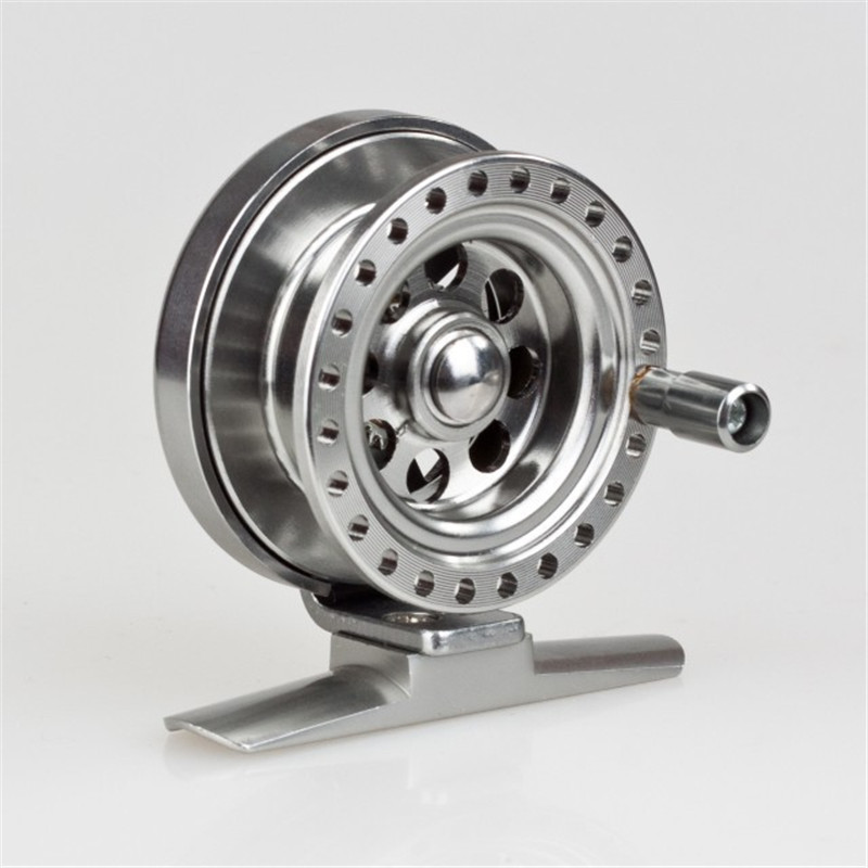 New fish line wheels raft wheel fly reel ice fishing reel for Fishing line on reel