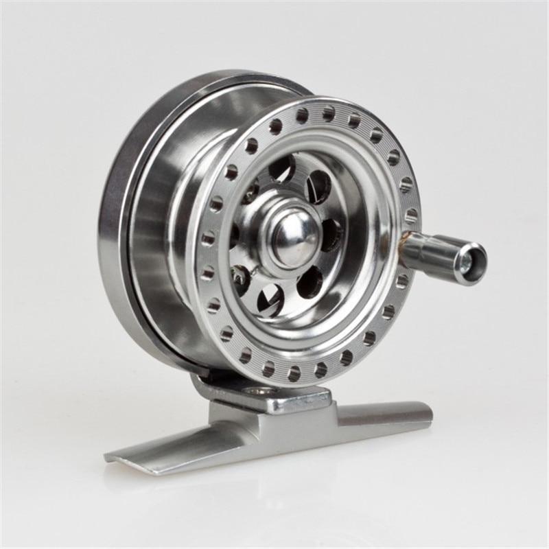 New fish line wheels raft wheel fly reel ice fishing reel for Ice fishing reel