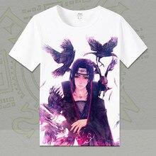 Naruto Short Sleeve O-neck Cotton T-shirt