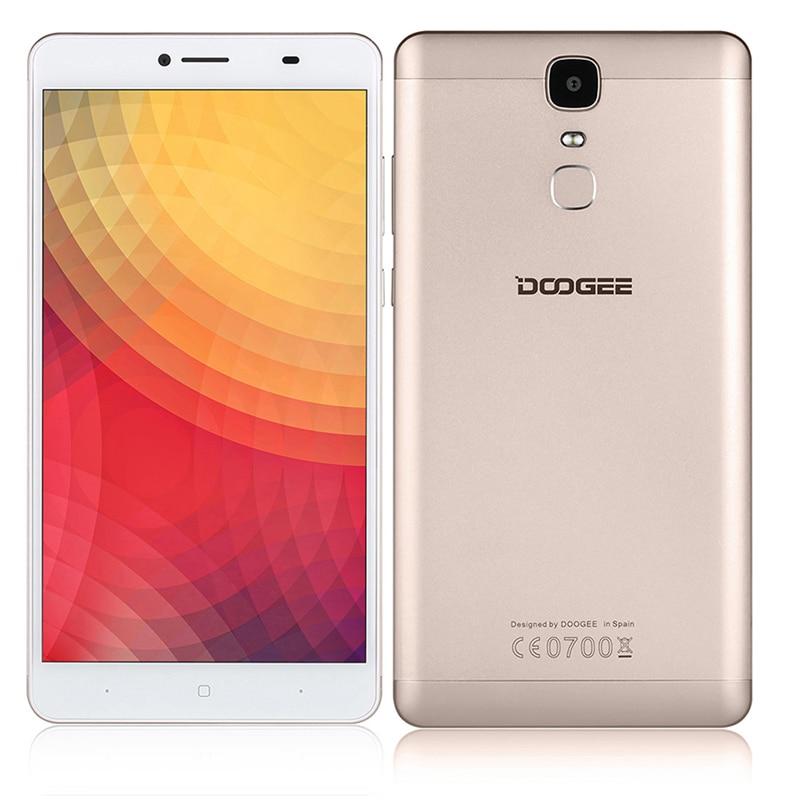 Цена за Y6 Doogee Макс 6.5 Дюймов FHD Мобильные Телефоны Dual SIM MTK6750 Qcta Core 3 ГБ RAM 32 ГБ 13MP ROM 4300 мАч Отпечатков Пальцев ID 4 Г Смартфон