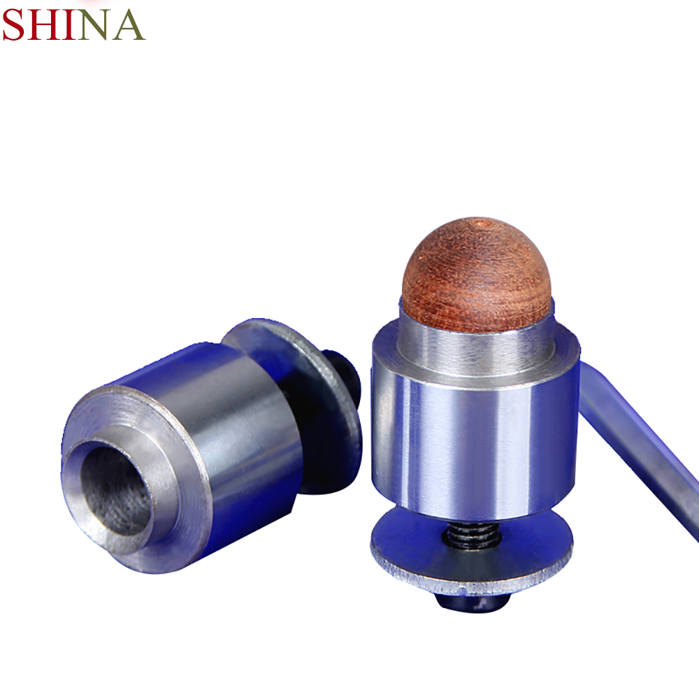 SHINA 1pc DIY Woodworking Tools Alloy Fixture Mould Wooden Beads Drill Beads Shape Wooden Rosa Ball Base Ball Bead Knife Base