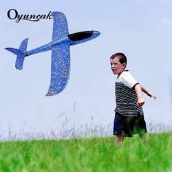Oyuncak игрушечные самолеты мальчиков Игрушка-планер самолеты Летающая модель планеры самолет из пенопласта игрушечные самолеты для детских