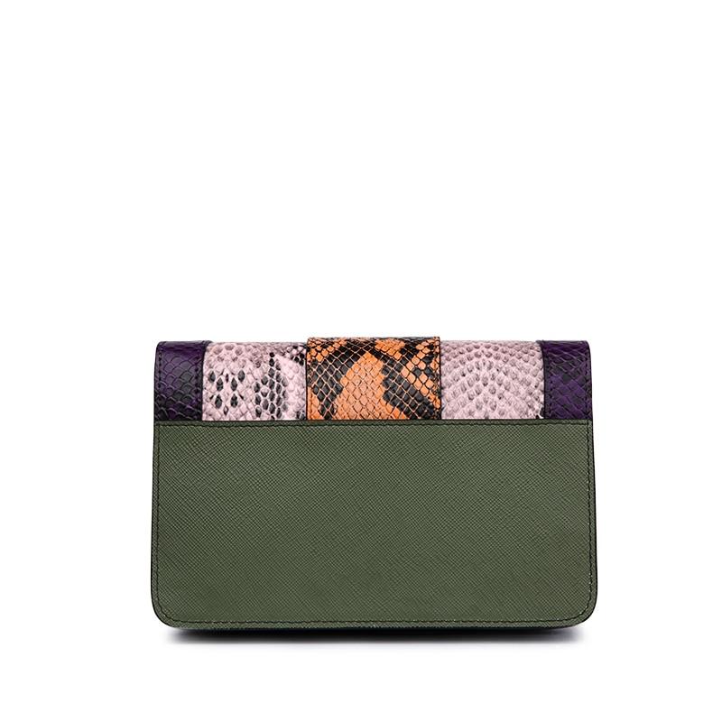 ¡CALIENTE! Bolso de cuero genuino para las mujeres diseñador de - Bolsos - foto 3