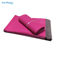 100pcs 250*350mm pink Poly Mailers Boutique Shipping Bags Couture Envelopes