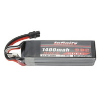 2018 Newest Batch for Infinity 6S 22.2V 1400mAh 90C Graphene Lipo Battery 6S1P Race Spec With XT60 SY60 Plug Connector Power