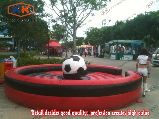 World Cup inflatable football soccer game machine mechanical rodeo football rock riding ...