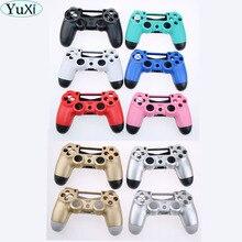 Funda mate para mando inalámbrico Sony PS4 Playstation 4, funda mate, color verde, rosa, azul, negro, rojo y dorado
