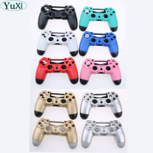 green pink blue black red gold Matte Housing Shell for Sony PS4 Playstation 4 Wireless Controller Replacement