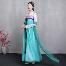 Ancient Princess Costume Dress women Cosplay fairy Hanfu clothing Chinese Traditional costume dance stage wear