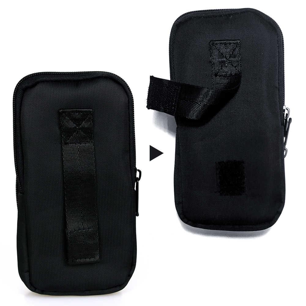 YOKCLQ אוניברסלי טלפון הסלולרי של ניילון פאוץ מותן חגורת תיק קליפ הארנק Case כיסוי עבור IPhone X, Iphone 8, Iphone 7/7 בתוספת, Iphone 6/6 S