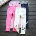 Осенние детская одежда для девочек брюки cat kid девушка брюки хлопчатобумажные леггинсы