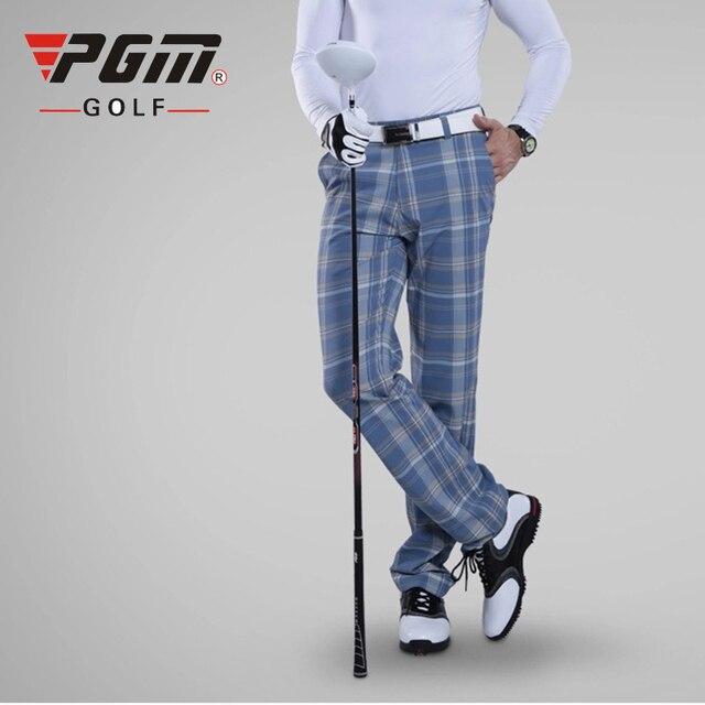 precio asombroso zapatos para correr nueva temporada € 78.67 |PGM colorido Pantalones de golf para hombres Plaid invierno  transpirable Hight elasticidad hombre de secado rápido Pantalones de golf  ...