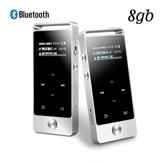 US $23 98 |2018 New Original BENJIE S5 MP3 Player Bluetooth 8GB Metal Sound  lossless MP3 Music Player Touch Screen FM MP3 Recordin-in HiFi Players