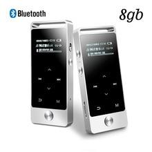 Новый оригинальный Бенджи S5 MP3-плееры Bluetooth 8 ГБ Металл HiFi Звук без потерь MP3 музыкальный плеер Сенсорный экран FM MP3 Запись