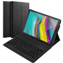 Keyboard Case For Samsung Galaxy Tab S5e 10.5 Inch SM-T720 SM-T725 PU Leather Flip Stand Bluetooth Tablet Cover