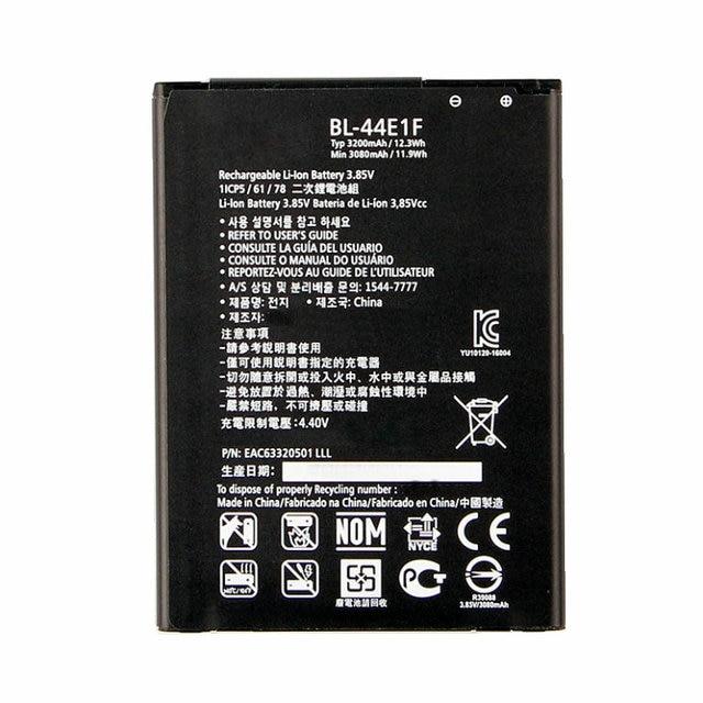 1x3200 mAh BL-44E1F/BL 44E1F batterie De Remplacement Pour LG V20 H990 F800 VS995 US996 LS995 LS997 H990DS H910 H918