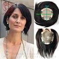 100% человеческих натуральных волос замены системы Полный Швейцарский Шнурок шелковый база женщин тонкая кожа парик Волосы частей 13*14 см кружева перед toupe