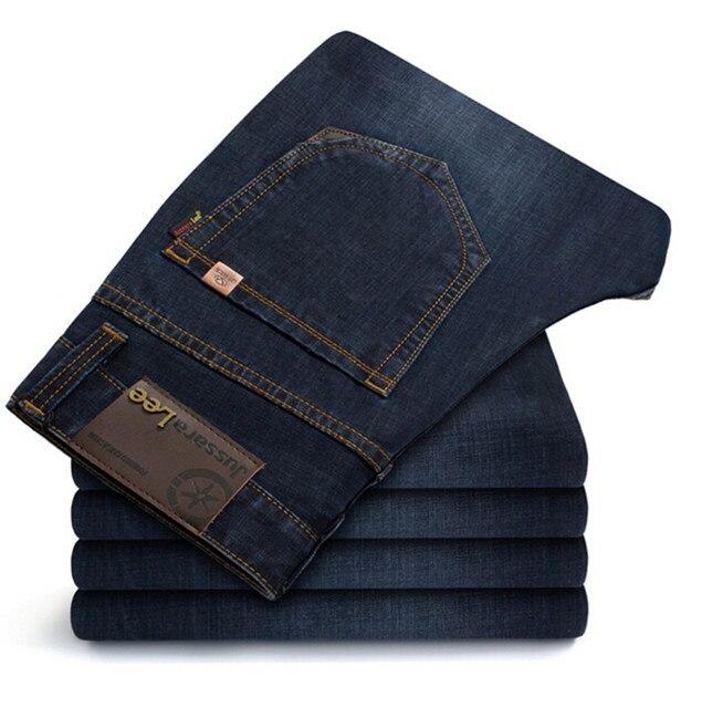 2016 Марка Супертяжелом Более Толстый Зимний Джинсы Высшего качества Высокий Класс Тонкий джинсы Прямые Ретро мужчины джинсы