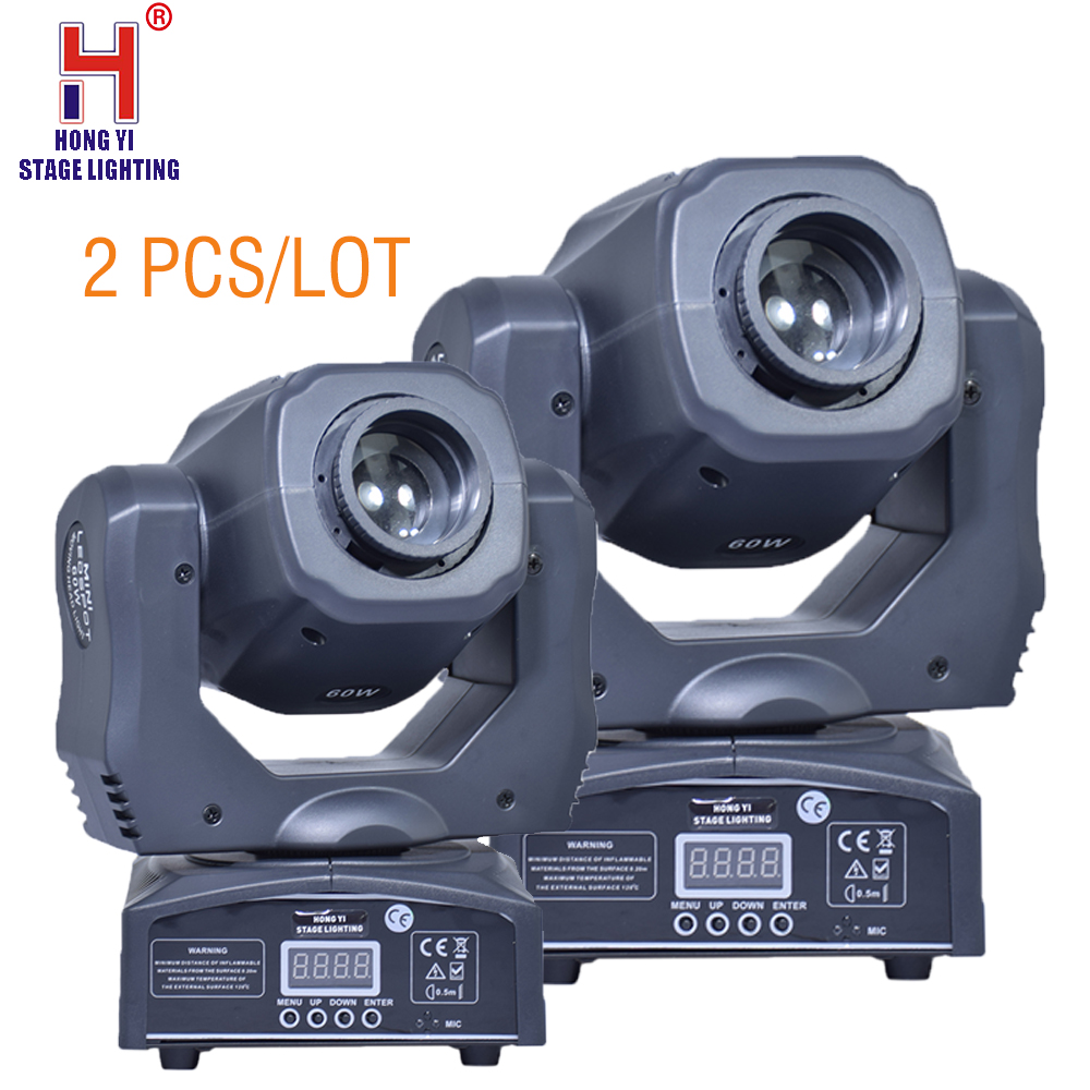 Mini Spot Us 174 65 6 Off Mini Spot 60w Led Moving Head Light With Gobos Dmx512 Dmx 9 11 Channels Professional Led Stage Light 2pcs Lot In Stage Lighting