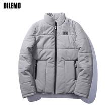 New Fashion Clothing Parka Men Stand Collar Winter Jacket Men Solid Color Keep Warm High-quality Mens Winter Jackets And Coats