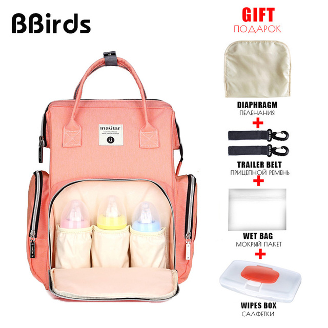 de2d2b5122ae BBirds 3 Designs Oxford Women s Backpacks 2018 Small Mini Female Backpack  For Mom Waterproof Kanken Anello Backpack Classic