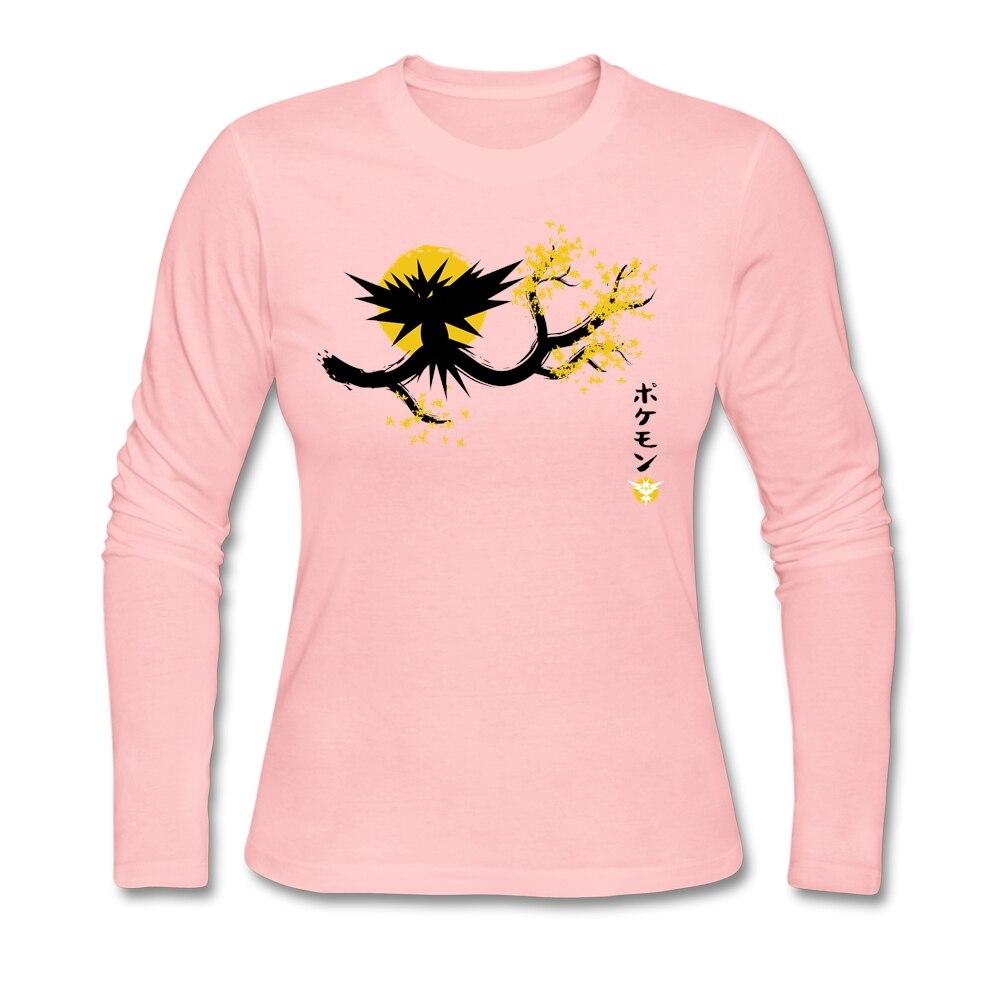 Design shirt japan - Women Woman S Design Japan Yellow Shirt Custom Long Sleeve Couple Base T Shirts For Women