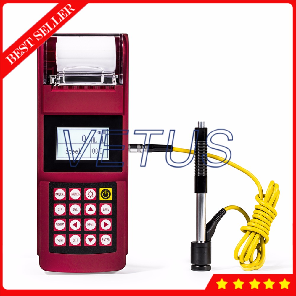 UEE915 Digital Durometer Portable Metal Hardness Tester Price with Build in High speed Thermal Printer PC Connecting Software