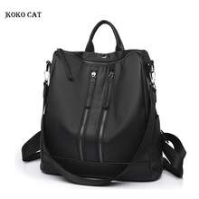 купить Women Backpacks PU leather bags for korean style women Teenage Girls Ladies Travel College mini rucksack small School Bags по цене 1025.82 рублей