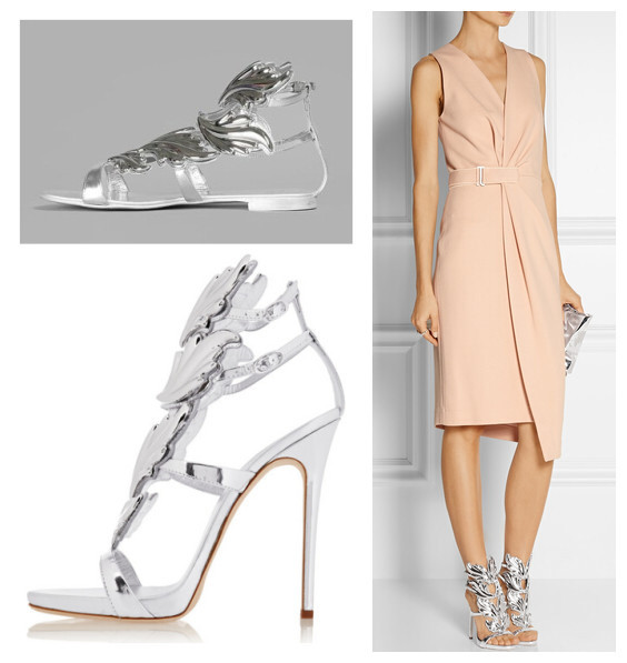 4bccb10bf2ebb9 NEW 2015 Gladiator Heels Silver Leaf Women Sandals Italy Brand Designer Sandals  Formal Wedding Party Dress Shoes Woman Pumps-in Women s Sandals from Shoes  ...