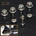 Reamocea 4 шт./компл. автомобильные колеса шины клапан Стебли крышка трубки прочный хром скрытый колпачок колеса скрытый клапан