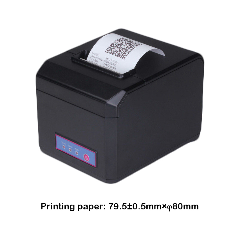 US $119 0 |pos 80 c windows 10 driver 80mm thermal pos bill android receipt  printer with cutter for restaurant ordering machine-in Printers from
