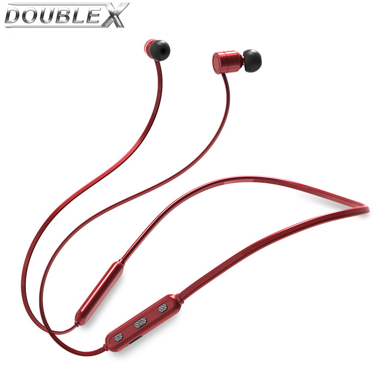 DOUBLEX 2018 New Sports Bluetooth Headphones IPX6 Waterproof Wireless Headset Stereo Blu ...